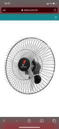 Ventilador Parede Ventura 60 cm Venti-Delta 60 Fios Branco - Bivolt
