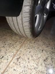 Vendo rodas 17 santorine Vulcano, pneus 205x40
