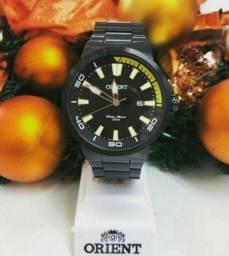Relógio Orient Original Novo Preto Masculino