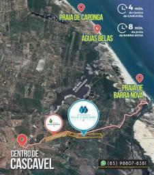 Lotes Villa Cascavel no Ceará (ligue e marque sua visita) (
