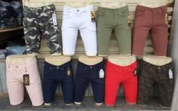 Atacado Bermudas Jeans, Calças, Studio Jeans Lucre 300% -Contato: *96