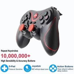 joystick controlador de jogo sem fio bluetooth 3.0