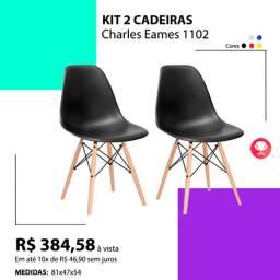 Kit duas cadeiras