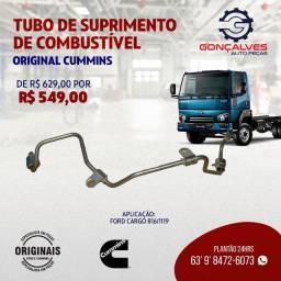 TUBO DE SUPRIMENTO DE COMBUSTÍVEL ORIGINAL CUMMINS CARGO 816/1119