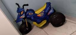 Moto elétrica infantil menino