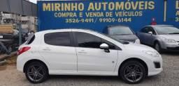 308 2013/2014 1.6 ROLAND GARROS THP 16V GASOLINA 4P AUTOMÁTICO