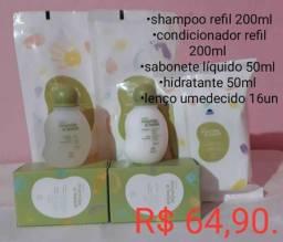 Usado, Kit Natura mamãe e bebê comprar usado  Belford Roxo