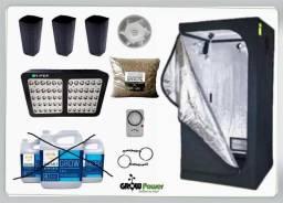 Kit Led Easy to Grow 80x80x160 - 600 Bivolt GrowPower