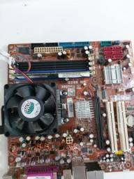 Kit Athlon x4 4núcleos 4threds + 2 gb de ram funcionando perfeitamente comprar usado  Maceió