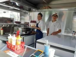 Perua Food-Truck pronta para trabalhar comprar usado  São Paulo