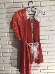 Usado, Fantasia carnaval/halloween chapeuzinho vermelho comprar usado  Lins