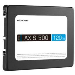Ssd multilaser 2,5 pol 120gb axis 500