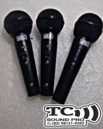 Microfones Profissional SM58-similar ao shure - avista ou cartão<br>