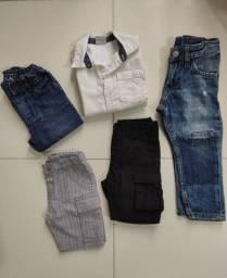 Brechó em casa - Lote de roupas infantil