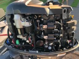 Lancha fluvimar boto lx 6000 motor yamaha 60 hp conjunto ano 2015