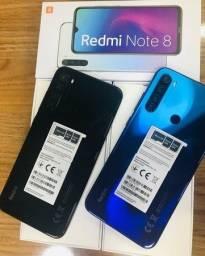 Xiaomi note 8 - 64gb - 12x sem juros de 125,00 - Entrega grátis - Lacrado