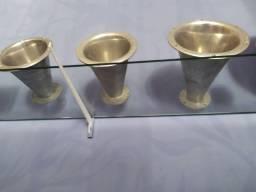 Boca de corneta jarrão alumínio