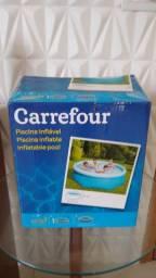 Piscina inflável Carrefour