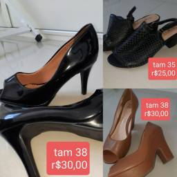 Sapatos feminino usado