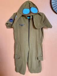 Fantasia menino aviador
