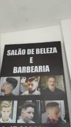 Cavalete p barbearia