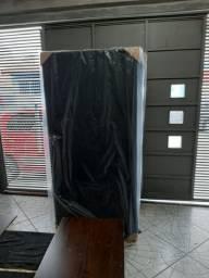 Base box solteiro courino preto