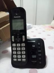Telefone Sem Fio Panasonic Secretária Eletrônica