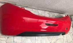Pára-choque traseiro 208 vermelho