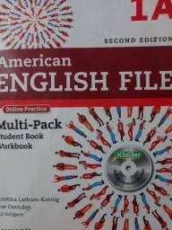 Livro american english file original com CD valor 100,00