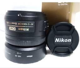 Lente Nikon Afs dx, 1.8g.<br><br>35mm.