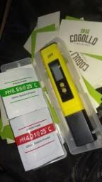 Medidor de pH digital de bolso hidroponia carcinicultura grow jardinagem piscina