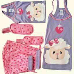 Kit C/10 Pijamas Adulto De Alças Primavera/verão 2021
