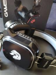 Headset + amplificador de fone