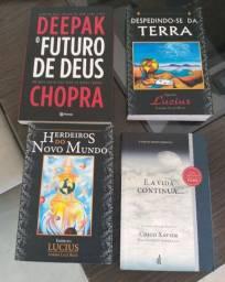 4 super  livros de ajuda espiritual