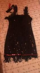 Vestido de carnaval tamanho médio 65$