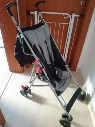 Carrinho De Bebê Guarda-chuva Pocket Cinza Multikids Baby (pouco usado)