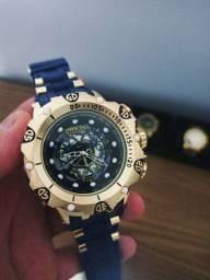 Relógio masculino invicta Hibrid azul