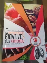 Livro NOVO de composto bioativos dos alimentos nutrição funcional