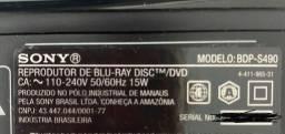 BlueRay DVD Sony BDP-S490
