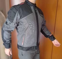Jaqueta Motociclismo X11 Masculina Perfeito Estado R$ 350,00