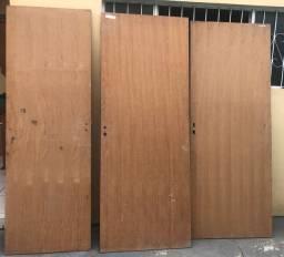 3 portas lisas