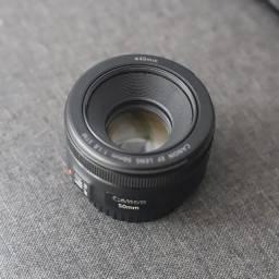 Lente 50mm f. 1.8 STM - Canon