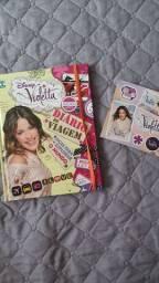 Violetta: diário de viagem + cartelinha de adesivos