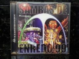 CD Sambas de Enredo RJ 1999 Raridade