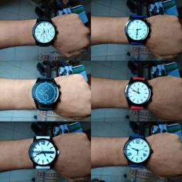 Relógio pulseira silicone