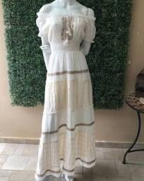 Maravilhoso vestido estilo Boho