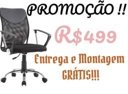 Cadeira diretor reclinável c200 mega Promoção!!!