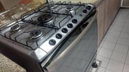 Excelente oportunidade vendo fogão 5 bocas com grill e sugar inox R$750