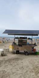 Vendo carrinho de bebidas no Embaré