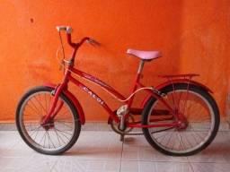Bicicleta infantil Caloi aro 18